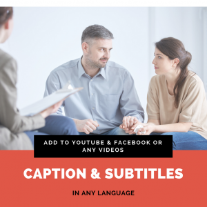 caption subtitles on videos